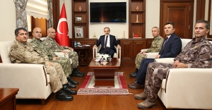 Korgeneral Şeref Öngay'dan Vali Epcim'e ziyaret