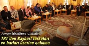 TRT, Bayburt türküleri ve barları...