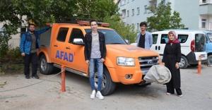 Bayburt'ta 63 üniversite öğrencisi faydalandı