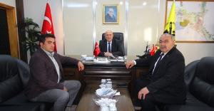 Sarıkamış Belediye Başkanı Hayali'den Bayburt ziyareti