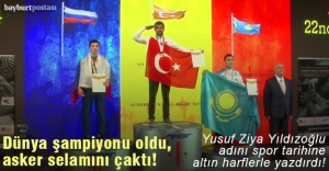 Yusuf Ziya Yıldızoğlu, 65 kiloda...