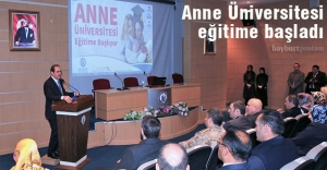 Anne Üniversitesi eğitime başladı