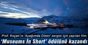 """Baksı Müzesi'ne """"Museums in Short"""" kısa film yarışması ödülü"""