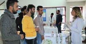 Gıda Mühendisliği öğrencileri, ürünlerini tanıttı