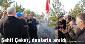 Şehit Er Salim Çeker, dualarla anıldı