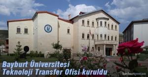 Bayburt Üniversitesi Teknoloji Transfer Ofisi Kuruldu