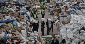 Bursa'daki Bayburtlulardan depremzedelere yardım