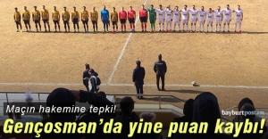 Bayburt Özel İdarespor, Gençosman'da kayıp!