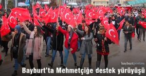 Bayburt#039;ta Mehmetçiğe destek...