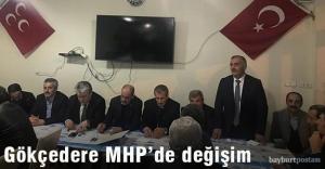 Gökçedere MHP'de görev değişikliği