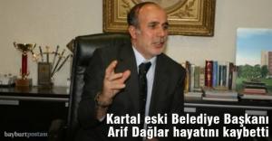 Kartal eski Belediye Başkanı Arif...