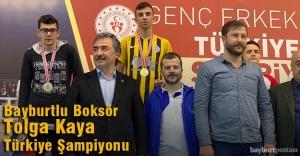 Tolga Kaya, 49 Kiloda Türkiye Şampiyonu