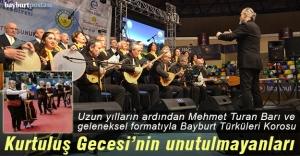 Uzun yılların ardından Mehmet Turan Barı ve Bayburt Türküleri Korosu