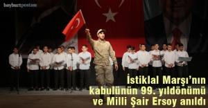 İstiklal Marşı'nın Kabulü ve Milli Şairi Anma töreni