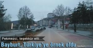 Bayburt, Türkiye'ye örnek oldu