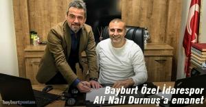 Bayburt Özel İdarespor'un yeni teknik direktörü Ali Nail Durmuş