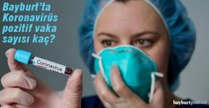 Bayburt#039;ta Koronavirüs pozitif...
