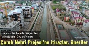 'Bayburtlu Akademisyenler'den Çoruh Nehri projesi için öneriler