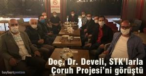 Doç. Dr. Develi, STK'larla Çoruh Nehri Projesi'ni görüştü