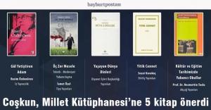 Rektör Coşkun'dan Cumhurbaşkanlığı Millet Kütüphanesi'ne Kitap Tavsiyesi
