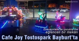 Cafe Joy Tostospark, Bayburt'ta hizmete açıldı