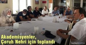Çoruh Nehri Platformu Uzman Heyeti...