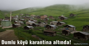 Dumlu köyü karantina altında!