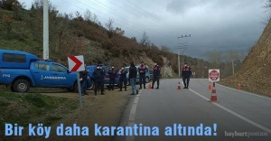 Çalıdere Köyü karantina altında!