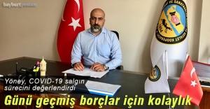 Yöney'den 'kredi ertelenmesi' açıklaması