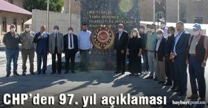 CHP'den 97. Kuruluş Yıldönümü açıklaması
