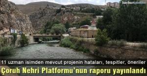 Çoruh Nehri Platformu#039;nun raporu...