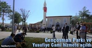 Genç Osman Parkı ve Yusufiye Cami hizmete açıldı