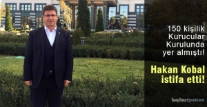 Hakan Kobal, Gelecek Partisi'nden istifa etti!