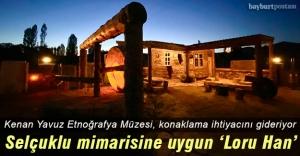 Kenan Yavuz Etnoğrafya Müzesi'nde 'Loru Han' projesi