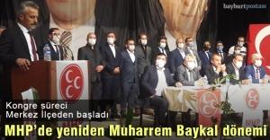 MHP Merkez İlçede Yeniden 'Muharrem Baykal' Dönemi