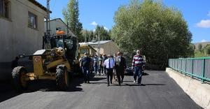 Örence köyü asflatlandı