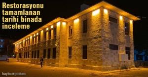 Vali Epcim, tarihi binada incelemelerde bulundu