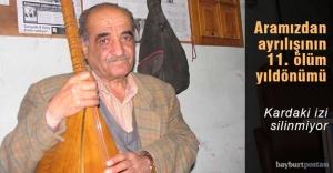 Ahıskalıoğlu'nun vefatının 11. yıldönümü