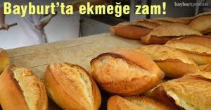Bayburt#039;ta ekmeğe 25 kuruş zam