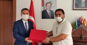 Bölge Müdürü Tekin'den Müftü Başoğlu'na ziyaret