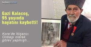 Kore Gazisi Kemal Kalacoş, hayatını kaybetti!