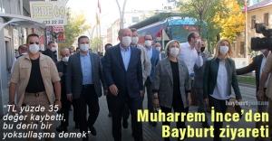 Muharrem İnce#039;den Bayburt ziyareti