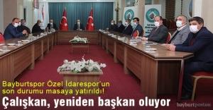 Bayburt Özel İdarespor'un son durumu masaya yatırıldı