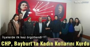 CHP, Bayburt#039;ta Kadın Kollarını...