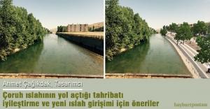 Çoruh ıslahının yol açtığı tahribatı iyileştirme ve yeni ıslah girişimi için öneriler