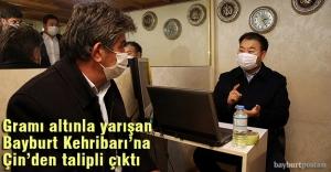 Gramı altınla yarışan Bayburt Kehribarı'na Çin'den alıcı çıktı