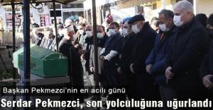 Serdar Pekmezci, son yolculuğuna uğurlandı