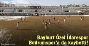 Bayburt Özel İdarespor, Gençosman'da Bodrumspor'a kaybetti!