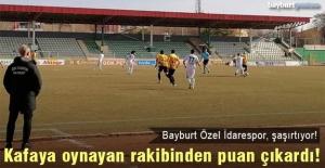 Bayburt Özel İdarespor, lig dördüncüsünden 1 puan çıkardı!