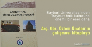 'Bayburt'taki Türbe ve Ziyaret Yerleri' çalışması kitaplaştı